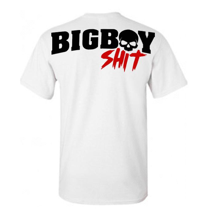 72cbcb15 T-Shirt Bigboy Backprint - white - Bigboyshit